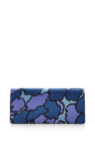 Double Trouble Clutch In Purple Petal Silk by Marc Jacobs for Preorder on Moda Operandi