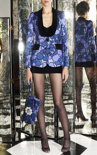 Marc Jacobs - Double Trouble Clutch In Purple Petal Silk