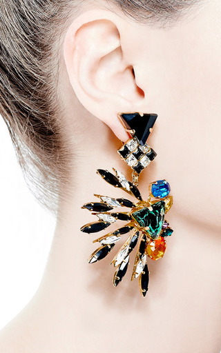 Pow  Clip-Earring by VICKISARGE for Preorder on Moda Operandi