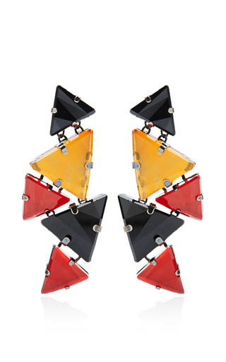 Pow Earrings by VICKISARGE for Preorder on Moda Operandi