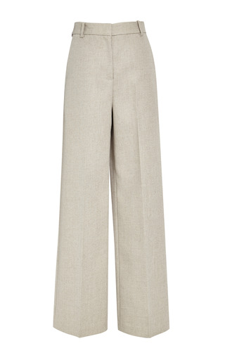 Wide leg trouser in natural by 3.1 PHILLIP LIM Preorder Now on Moda Operandi