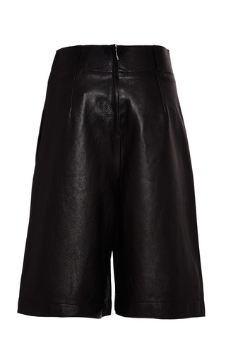 3.1 Phillip Lim - Culottes With Top Stitch Detail In Black