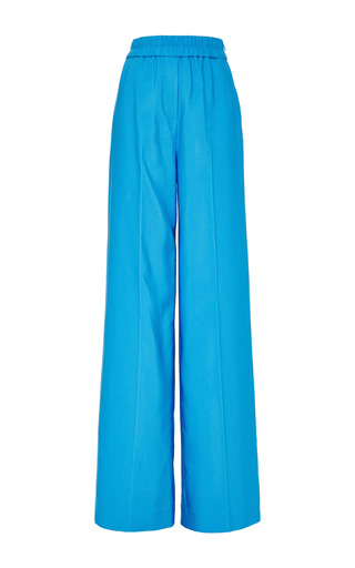 Cropped Flared Pant In Caribbean by 3.1 PHILLIP LIM for Preorder on Moda Operandi