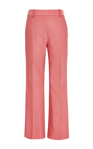 Cropped Flared Pant In Guava by 3.1 PHILLIP LIM for Preorder on Moda Operandi