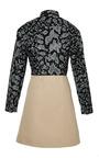 3.1 Phillip Lim - Black Shirt Dress With Contrasting Skirt