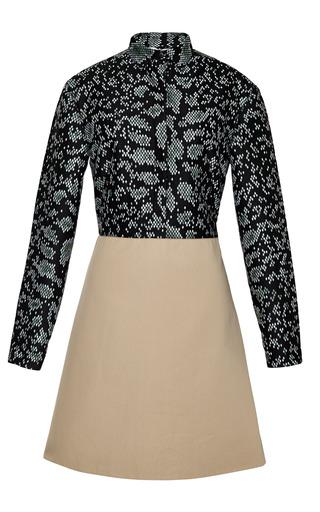 Black shirt dress with contrasting skirt by 3.1 PHILLIP LIM Preorder Now on Moda Operandi