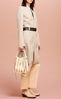 Cropped Flared Pant In Soft Peach by 3.1 Phillip Lim for Preorder on Moda Operandi