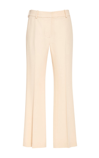 Cropped flared pant in soft peach by 3.1 PHILLIP LIM Preorder Now on Moda Operandi
