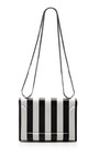 3.1 Phillip Lim - Soleil Mini Chain Shoulder Bag in Black and White
