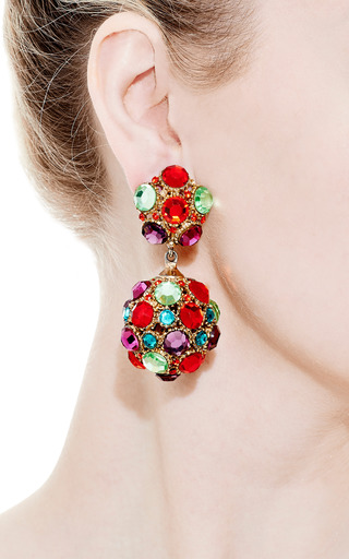 Vintage Thelma Deutsch Drop Earrings by Carole Tanenbaum for Preorder on Moda Operandi
