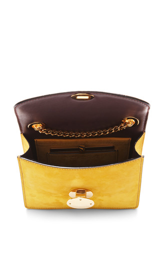 Marc Jacobs - Mini Suede Trouble Bag In Sunflower