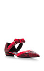 Bow Band Skimmer In Pink by Nicholas Kirkwood for Preorder on Moda Operandi