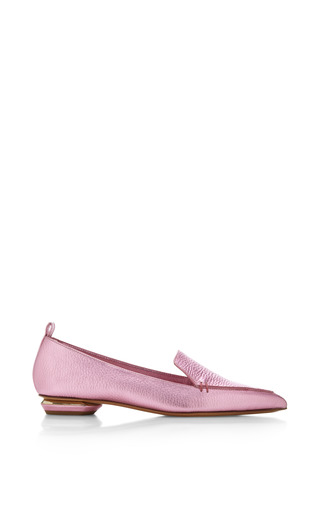 Botalatto Loafer In Pink by Nicholas Kirkwood for Preorder on Moda Operandi
