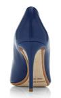 Nip Toe Pump In Navy by Nicholas Kirkwood for Preorder on Moda Operandi