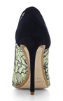 Lace Pointed Toe Pump In Mint by Nicholas Kirkwood for Preorder on Moda Operandi