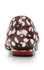 Nicholas Kirkwood - Season Hexagon Skimmer In Red Floral
