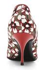 Nicholas Kirkwood - Season Hexagon Pump In Red Floral