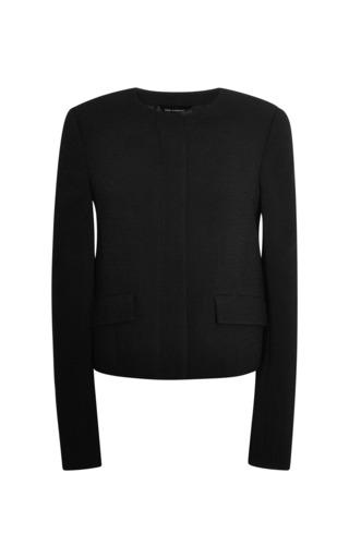 Cardigan jacket with pocket detail by WES GORDON Preorder Now on Moda Operandi