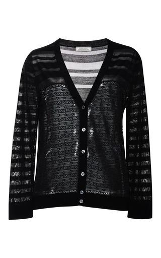 Silk and lace cardigan by NINA RICCI Preorder Now on Moda Operandi
