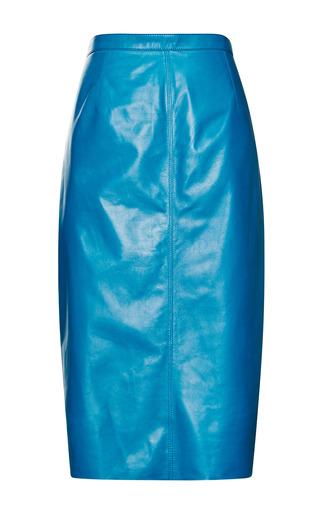 Leather Skirt by Nina Ricci for Preorder on Moda Operandi