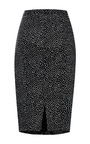 Nina Ricci - Printed Linen Stretch Skirt