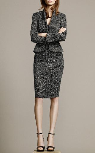Printed Linen Stretch Skirt by Nina Ricci Now Available on Moda Operandi