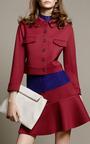 Bonded Wool Skirt by Nina Ricci for Preorder on Moda Operandi