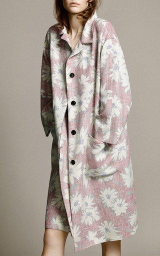 Printed Coat by Nina Ricci for Preorder on Moda Operandi