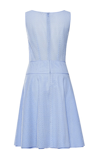 Nina Ricci - Embroidered Poplin Dress
