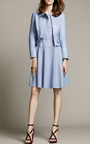 Embroidered Poplin Dress by Nina Ricci for Preorder on Moda Operandi