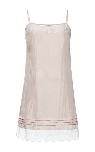 Silk crepe slip dress by NINA RICCI Preorder Now on Moda Operandi