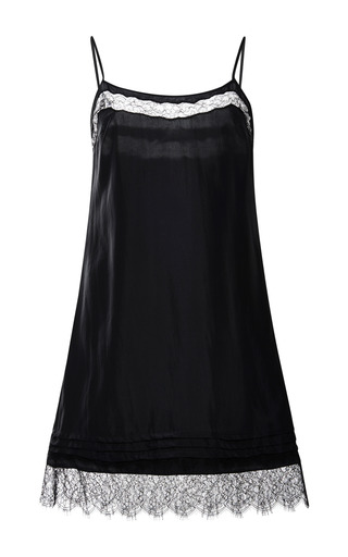 Silk crepe slip dress by NINA RICCI Preorder Now on Moda Operandi