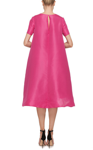 Monique Lhuillier - Monique Lhuillier Silk Gazar Evening Tunic