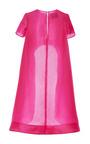 Monique Lhuillier Silk Gazar Evening Tunic by Monique Lhuillier for Preorder on Moda Operandi