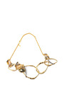 Phoenix 18 K Gold Large Rocky Link Necklace by ALEXIS BITTAR for Preorder on Moda Operandi