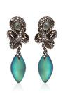 Alexis Bittar - Imperial Noir Medium Crystal Lace Snake Earrings