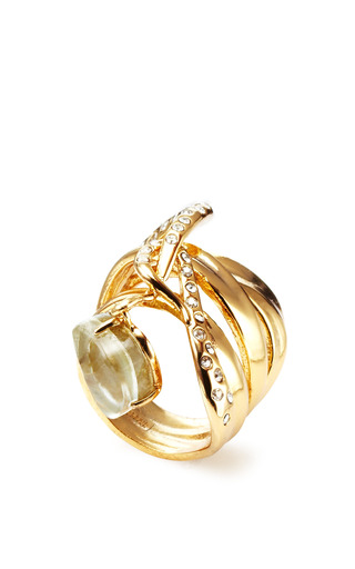 Alexis Bittar - Miss Havisham Large Charmed Ribbon Ring