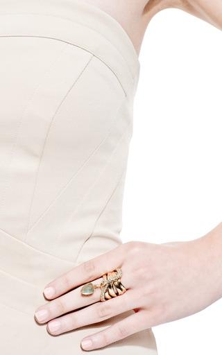 Miss Havisham Large Charmed Ribbon Ring by ALEXIS BITTAR for Preorder on Moda Operandi
