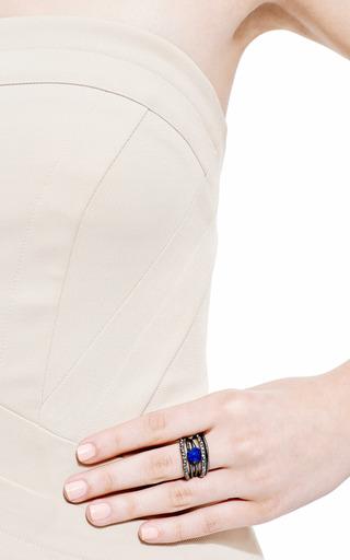 Alexis Bittar - Miss Havisham Rotating Stack Lapis Ring