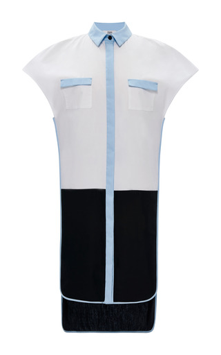 Prabal Gurung - Cotton Draped Tunic Dress