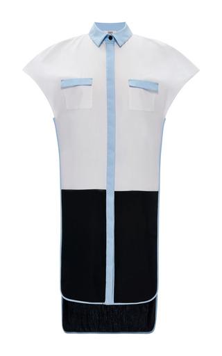 Cotton Draped Tunic Dress by Prabal Gurung for Preorder on Moda Operandi