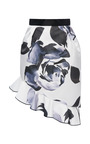 Prabal Gurung - Technical Satin Asymmetrical Tulip Skirt