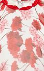 Giambattista Valli Carnation Georgette Kimono Blouse by Giambattista Valli Now Available on Moda Operandi