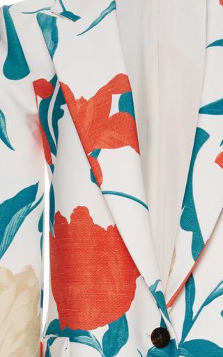 Thakoon - Floral Printed Coating Menswear Coat