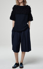 Textured Looped Fringe Tunic by Thakoon Addition for Preorder on Moda Operandi