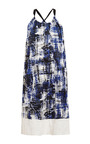 Brushstroke Cotton Tank Dress by Sea for Preorder on Moda Operandi