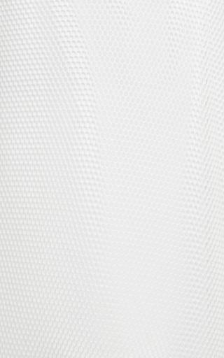 Sea - Honeycomb Mesh Side Pleat Skirt