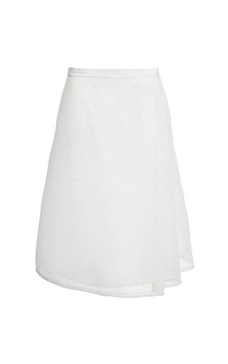Honeycomb Mesh Side Pleat Skirt by Sea for Preorder on Moda Operandi