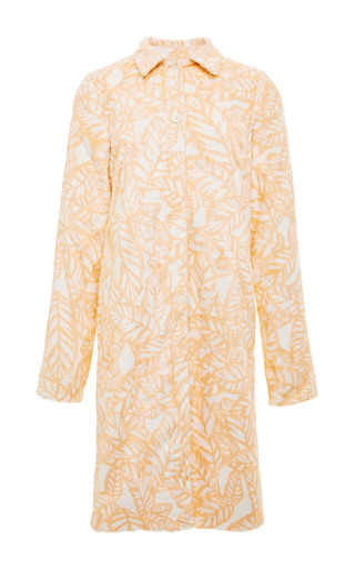 Front faux fur a-line coat by OPENING CEREMONY Preorder Now on Moda Operandi