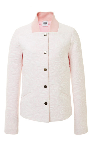 Dimensional front tailored varsity jacket by OPENING CEREMONY Preorder Now on Moda Operandi